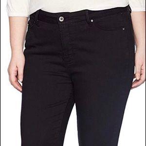 NWT rebel black jeans 14W REBEL WILSON BRAND